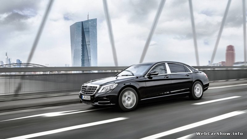 2016 Mercedes-Benz S600 Maybach Guard