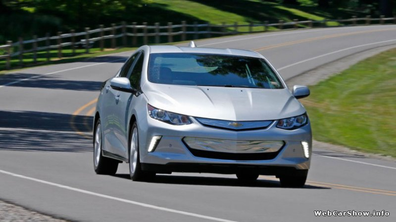 2017 Chevrolet Volt - Photos, Information & Specs | WebCarShow.info