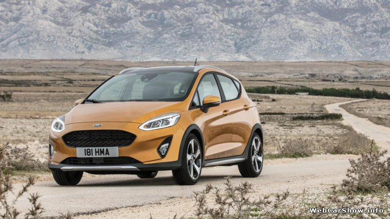2017 Ford Fiesta Active