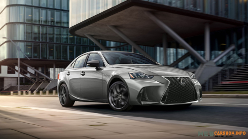 2019 Lexus IS 300 F-Sport Black line edition